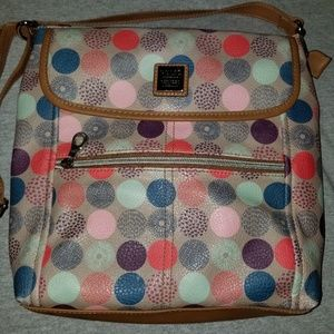 Relic Multi Color Crossbody Bag